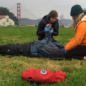 First aid CPR wilderness medicine